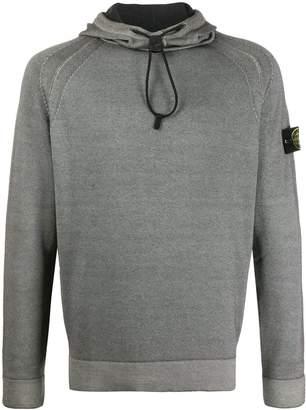 Stone Island drawstring neck jumper