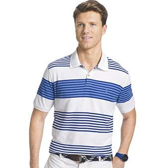 Advantage Performance Stripe Polo (Regular & Slim Fit)