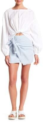 Honeybelle Honey Belle Striped Wrap Skirt