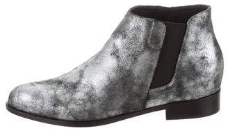 Giuseppe Zanotti Metallic Pointed-Toe Booties w/ Tags
