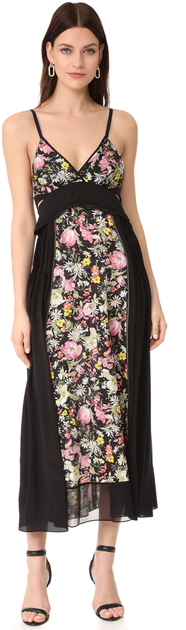 3.1 Phillip Lim 3.1 Phillip Lim Meadow Flower Dress with Bra Detail