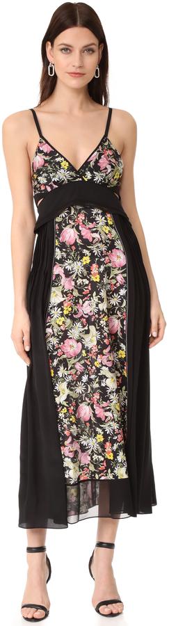 3.1 Phillip Lim3.1 Phillip Lim Meadow Flower Dress with Bra Detail