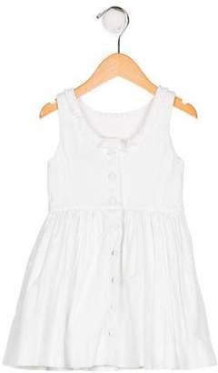 Polo Ralph Lauren Girls' Sleeveless Pleated Dress