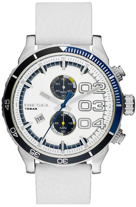Diesel Men&s Double Down Quartz Watch $195 thestylecure.com