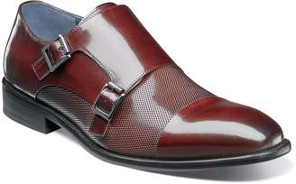 Stacy Adams Jennings Cap Toe Double Strap Monk Shoe