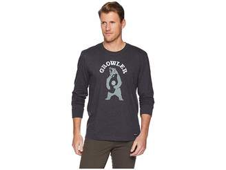 Life is Good Growler Long Sleeve Crusher T-Shirt