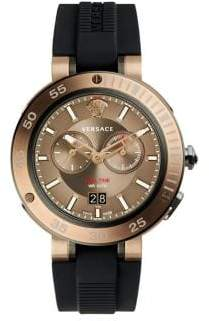 Versace V-Extreme Pro Stainless Steel Chronograph Watch