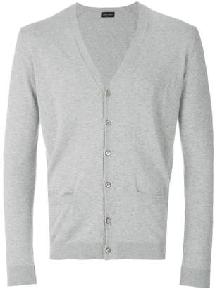 Roberto Collina V-neck fitted cardigan