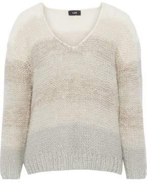 Line Dégradé Mohair-Blend Sweater