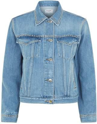 Frame Studded Denim Jacket
