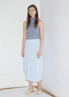 Jil Sander Gingham Gauze Skirt