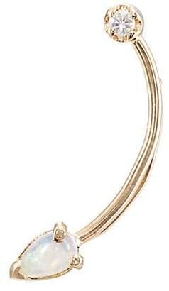 Loren Stewart Women's Curved-Wire Ear Pin