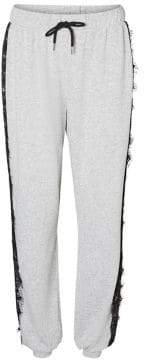 Vero Moda Baybay Lace Stripe Pants