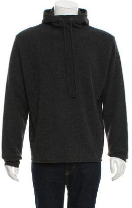 Burberry Solid Pullover Hoodie