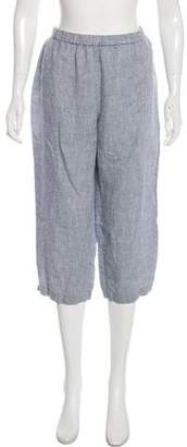 Eileen Fisher Linen Capri Pants