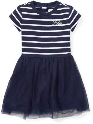 Ralph Lauren Kids Tulle-Skirt T-Shirt Dress
