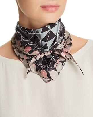 Echo Tiled Together Silk Scarf