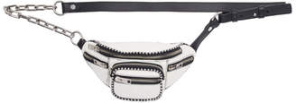 Alexander Wang White Mini Attica Fanny Pack