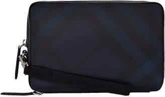 Burberry Checked Clutch Bag