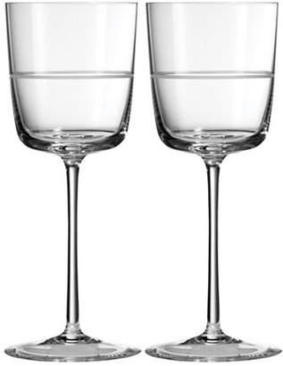 Vera Wang Bande Wine Glass Set