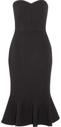 Dolce & Gabbana Stretch-Wool Crepe Midi Dress