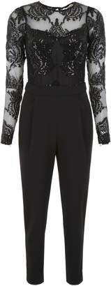 0a039e9f750 MICHAEL Michael Kors Jumpsuit With Sequins