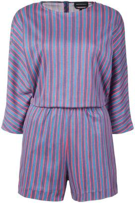 Vanessa Seward striped playsuit