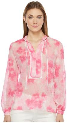 Ellen Tracy - Placket Detail Blouse Women's Blouse $89.50 thestylecure.com