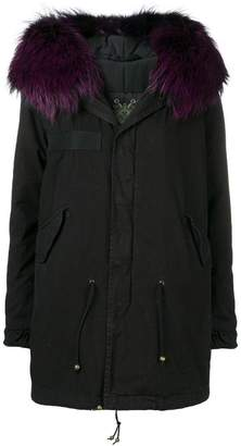 Mr & Mrs Italy hooded trimmed parka