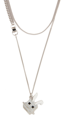 McQ - Alexander McQueen Electro Bunny Necklace $175 thestylecure.com