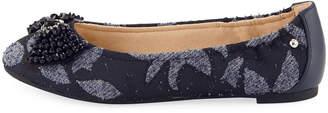 Sam Edelman Cait Jewel-Bow Brocade Ballet Flats