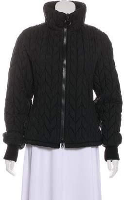 Prada Sport Quilted Zip-Up Jacket
