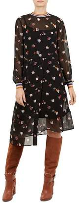 Ted Baker Colour by Numbers Luela Floral Dress