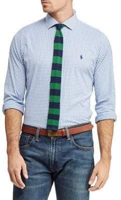 Polo Ralph Lauren Checkered Classic-Fit Performance Shirt