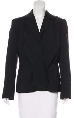 Alberta Ferretti Structured Virgin Wool-Blend Blazer