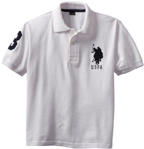 U.S. Polo Assn. Boys 8-20 Pique Polo