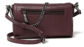 Frye Lena Chain Leather Crossbody Bag