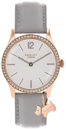 Radley London Grey Millbank Watch With Rose Gold Casing Ladies Watch
