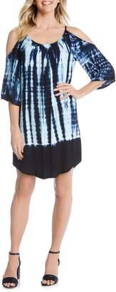 Karen Kane Cold Shoulder Shift Dress