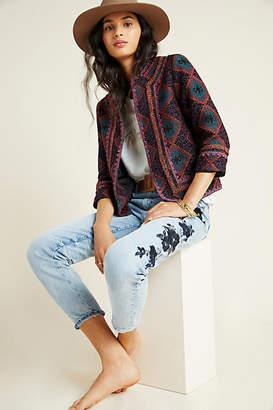 Anna Sui Maribel Embroidered Blazer