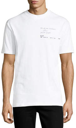 McQ Dropped Shoulder Graphic T-Shirt