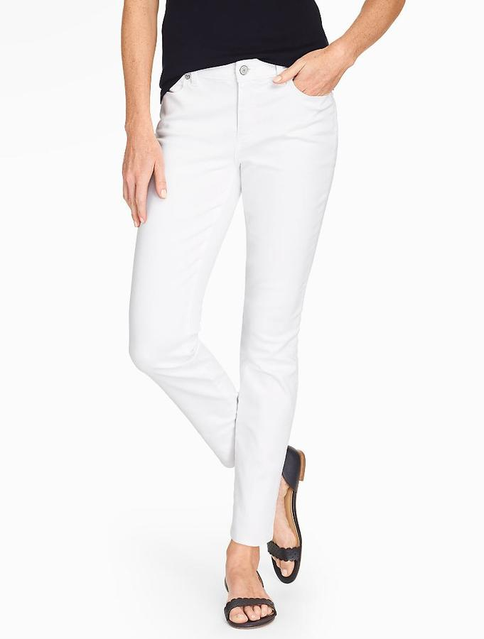 The Flawless Five-Pocket Slim Ankle Jean