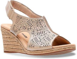 Clarks Lafley Rosen Espadrille Wedge Sandal - Women's