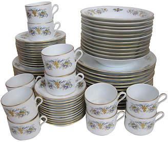 One Kings Lane Vintage Ginori Porcelain Service for 12 - 72 pcs. - The Emporium Ltd.