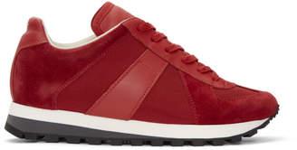 Maison Margiela Red Runner Sneakers