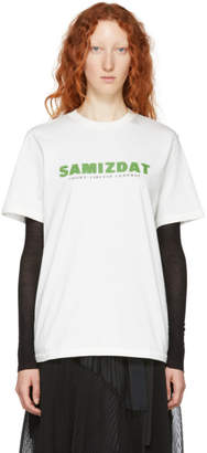 Yang Li White Logo T-Shirt