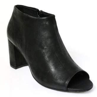 Sneaky Steve Black Eco Women Expose Leather Boots - 36 - Black