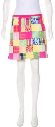Lilly Pulitzer Patterned Mini Skirt