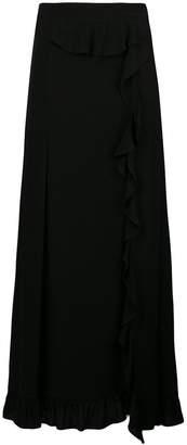 IRO ruffle trim skirt