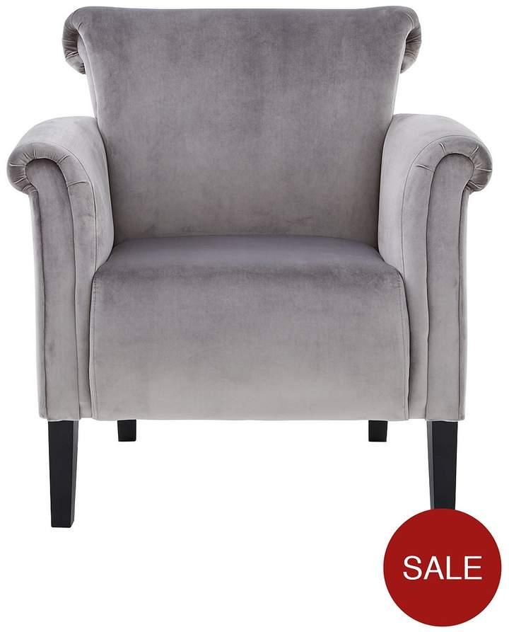 Ideal Home New Luxor Fabric Accent Chair